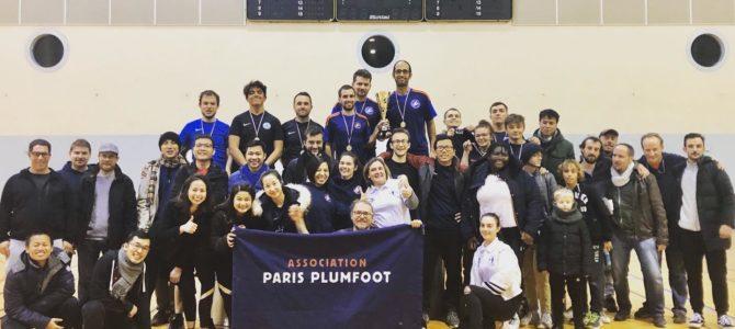 Résultats de la compétition parisienne !